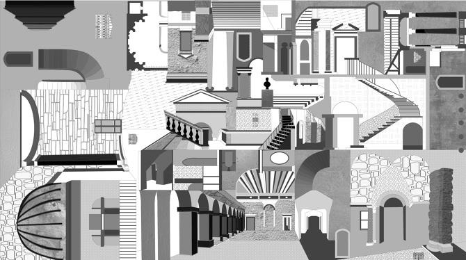 Ufficio Erasmus Architettura Genova : Illustrazione: i disegni grafici di sabrina morreale osso magazine